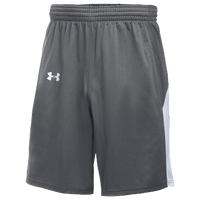 Under Armour Team Fury Shorts - Women's - Grey / White
