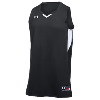 Under Armour Team Fury Jersey - Men's - Black / White