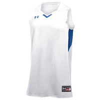 Under Armour Team Fury Jersey - Men's - White / Blue