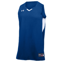 Under Armour Team Fury Jersey - Men's - Blue / White