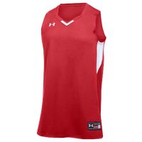 Under Armour Team Fury Jersey - Men's - Red / White