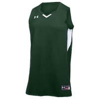 Under Armour Team Fury Jersey - Women's - Dark Green / White