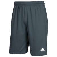 adidas Team Clima Tech Shorts - Men's - Grey / White