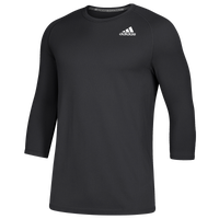 adidas Fielder's Choice 2.0 3/4 Baselayer Top - Men's - Black