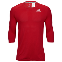 adidas Fielder's Choice 2.0 3/4 Baselayer Top - Men's - Red