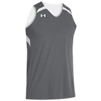 Under Armour Team Clutch Reversible Jersey - Men's - Grey / White
