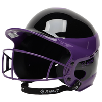 RIP-IT Vision Pro Helmet with Facemask - Women's - Purple / Black
