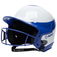 RIP-IT Vision Pro Helmet with Facemask - Women's - Blue / White