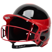 RIP-IT Vision Pro Helmet with Facemask - Women's - Red / Black