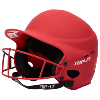 RIP-IT Vision Pro Helmet with Facemask - Women's - Red / Red
