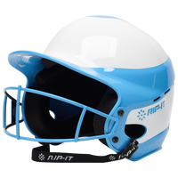 RIP-IT Vision Pro Helmet with Facemask - Women's - Light Blue / White