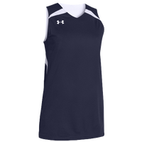 Under Armour Team Clutch Reversible Jersey - Women's - Navy / White