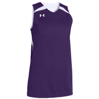 Under Armour Team Clutch Reversible Jersey - Women's - Purple / White