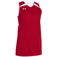 Under Armour Team Clutch Reversible Jersey - Women's - Red / White