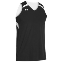Under Armour Youth Team Clutch Reversible Jersey - Boys' Grade School - Black / White
