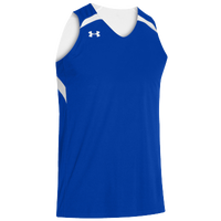 Under Armour Youth Team Clutch Reversible Jersey - Boys' Grade School - Blue / White