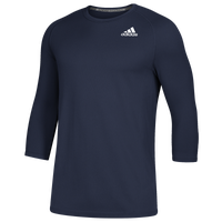 adidas Fielder's Choice 2.0 3/4 Baselayer Top - Men's - Navy