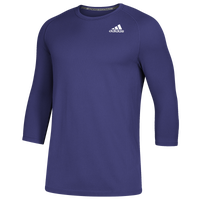 adidas Fielder's Choice 2.0 3/4 Baselayer Top - Men's - Purple