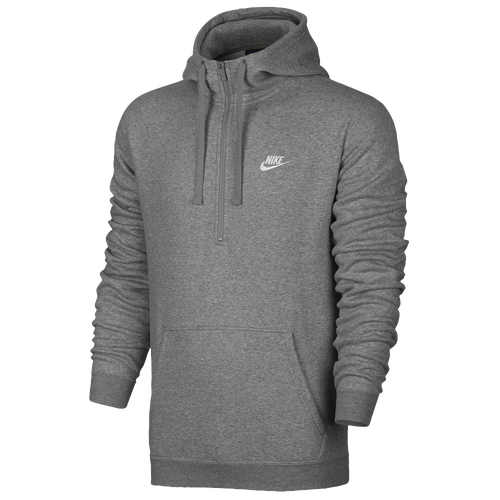 Nike Club Half Zip Fleece Hoodie Men S Casual Clothing Dark ddd69fc0c