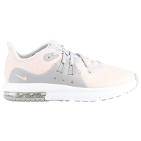 Nike Air Max Sequent 3 - Girls' Preschool - Pink / Grey