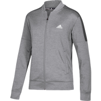 adidas Team Issue Bomber - Women's - Grey / Grey