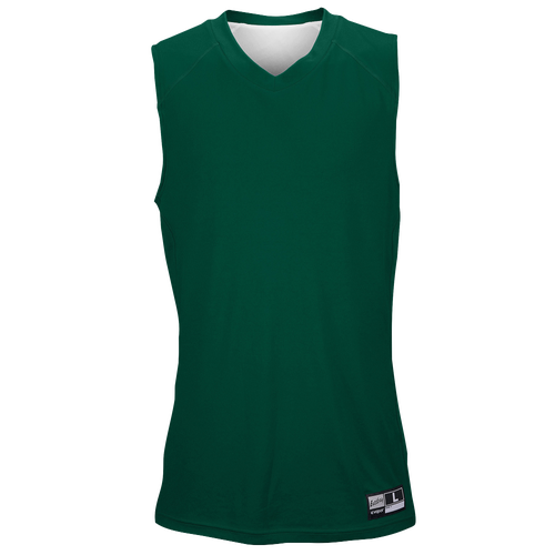 Eastbay Supercourt 2.0 Reversible Jersey - Men's Basketball - Forest Green/White 1276502