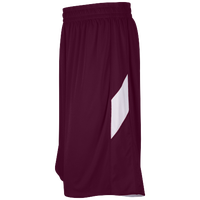 Eastbay Supercourt 2.0 Reversible Shorts - Men's - Maroon / White