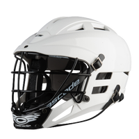 Cascade CS Lacrosse Helmet - Boys' Grade School - All Black / Black