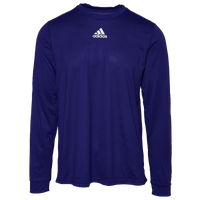 8d682f081 adidas Team Creator Long Sleeve T-Shirt - Men's - Purple