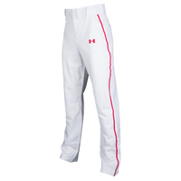 Under Armour Heater Piped Pants - Men's - White / Red