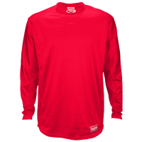 Rawlings Dugout Fleece Pullover - Men's - Red / Red