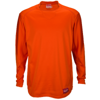 Rawlings Dugout Fleece Pullover - Men's - Orange / Orange