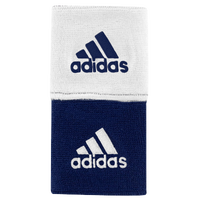 "adidas Interval 3"" Reversible Wristbands - Navy / White"