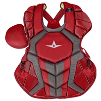 All Star System 7 Axis Chest Protector - Adult - Red