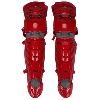 All Star System 7 Axis Leg Guard - Adult - Red