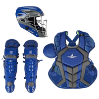 All Star System 7 Catcher's Kit - Adult - Blue / Grey