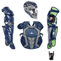 All Star System 7 Intermediate Catchers Kit - Grade School - Navy