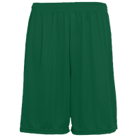 Augusta Sportswear Team Training Shorts - Men's Baseball - Dark Green 1420DG