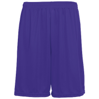 Augusta Sportswear Team Training Shorts - Men's - Purple / Purple