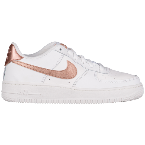 25c147fa8f34 ... italy nike air force 1 low 06 girls grade school casual shoes summit  white met red
