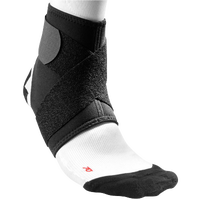 McDavid Ankle Support w/ Figure-8 Straps - All Black / Black