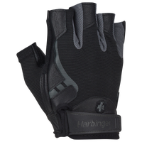 Harbinger Pro Training Gloves - Men's - Black / Grey
