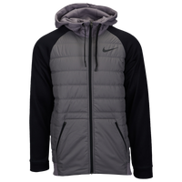 Nike Therma F/Z Winterized Jacket - Men's - Grey / Black