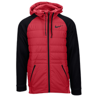 Nike Therma F/Z Winterized Jacket - Men's - Red / Black