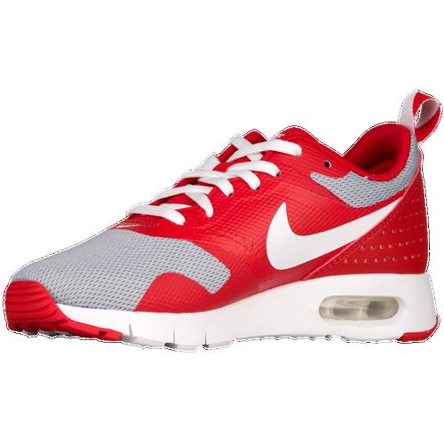 Nike Air Max Tavas - Boys' Grade School - Casual - Shoes - University  Red/White/Wolf Grey