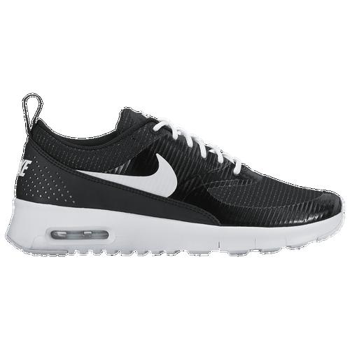 nike shoes air max black and white. Nike Air Max Thea - Girls\u0027 Grade School Black / White Shoes And O