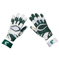 Cutters Rev Pro 2.0 Ying Yang Receiver Gloves - Men's - Dark Green / White
