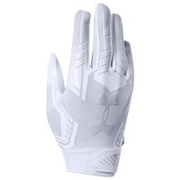 Under Armour PeeWee F6 Receiver Gloves - Boys' Preschool - All White / White