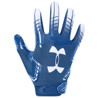 Under Armour PeeWee F6 Receiver Gloves - Boys' Preschool - Blue / White