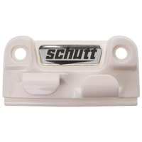 Schutt Twist Release Retainer - Men's - White / Silver